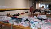 Roupas de 1 até 40 reais no Bazar Solidário da Cáritas