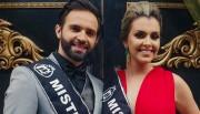 Talisson e Ana Paula recebem faixa de Içara para o concurso Beleza do Bem
