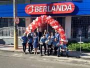 Berlanda reinaugura loja em novo endereço