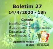 Com novo protocolo Maracajá tem dois casos suspeitos de covid-19