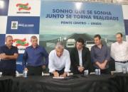 Moreira autoriza construção de ponte em Braço do Norte