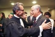 Governador Moreira prestigia posse do ministro do TST