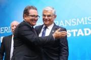 Governador prestigia posse do novo ministro do Turismo