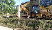 Conseg e Governo Municipal fazem limpeza do antigo recreio de Siderópolis