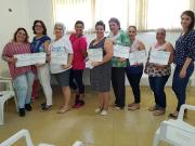 Grupo de Emagrecimento saudável de Siderópolis encerra com aprendizado e muita determinação