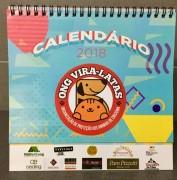 Calendário 2018 da SOS Vira-Lata disponível para a compra