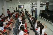 Câmara recebe visita de alunos da Escola Maria Arlete Lodetti
