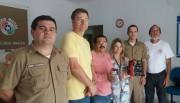 IFF/SC doa câmeras ao destacamento da PM de Rincão