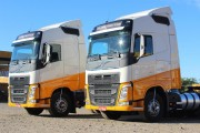 Novos caminhões modernizam frota da Transportes Ouro Negro