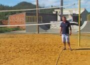 Campos de areia são revitalizados em Jacinto Machado