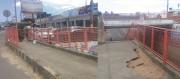 Viaduto está abandonado por falta de manutenção
