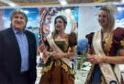 Leonel Pavan visita a CatarinaFest e destaca potencial de SC
