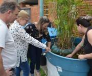 Projeto do CEDUP Abílio Paulo despolui água do Rio Criciúma