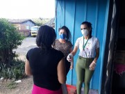 Famílias em vulnerabilidade social em Maracajá recebem auxílio do Governo