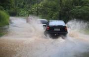 Litoral catarinense registra grandes volumes de chuva