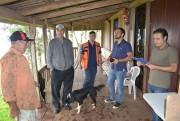 Técnicos da SOL visitam pousadas de Jacinto Machado
