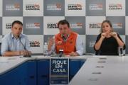 Governador anuncia prorrogação das medidas de isolamento por mais sete dias