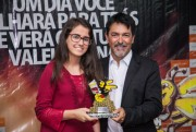 Kathiê Goulart comenta sobre o Destaque Içarense 2018
