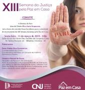 Comarca de Criciúma promove evento sobre prevenção da violência contra a mulher