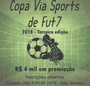 Via Sports abre inscrições para a terceira edição de Copa de Fut7