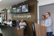 Enfrentamento do coronavírus em Içara foi abordado na sessão do Legislativo