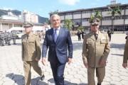 Moreira empossa novo comandante-geral da PM de SC