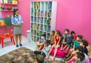 Cras Vila Miguel monta nova biblioteca com ajuda da Unesc