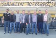 Visita de campeões da Copa do Brasil no Majestoso