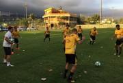 Criciúma realiza treino no Rio de Janeiro