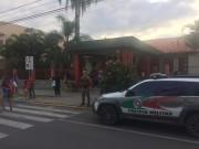 Segurança e Educação: Polícia Militar protege escola
