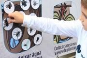 Alunos do Colégio Marista Criciúma mantém prevenção ao Aedes Aegypti