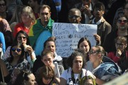 Manifestantes veem 10 mil em marcha contra reformas