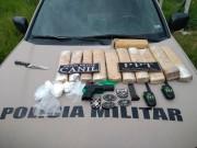 Dois homens são presos com drogas e arma em Laguna