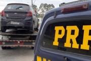 Jovem de Içara é detido com carro clonado do Rio Grande do Sul