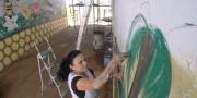 Potencialidades de Içara são transformadas em painéis de arte