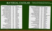 Lista com materiais escolares de melhor custo em Içara