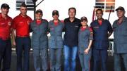 Anselmo Freitas homenageia bombeiros