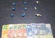 Adolescentes são detidos pelo PPT por tráfico de drogas
