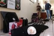 Membro de quadrilha é detido pela PM ao tentar resgate de assaltante