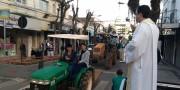 Agricultores realizam tratoraço com São Donato e recebem benção