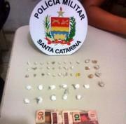 Jovem é detida por tráfico no bairro Jaqueline em Içara