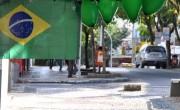 Centro de Içara esvazia durante segundo jogo da Seleção no Mundial
