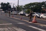 Operação Ferrolho: veículo é recuperado em barreira policial