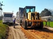 Rejeito de asfalto é utilizado para recuperação viária em Vila Alvorada