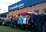 Cristalcopo treina profissionais para combater princípios de incêndio