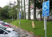 Içara tem 143 usuários especiais e 35 vagas de estacionamento