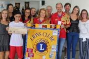 Lions Clube de Içara recebe premiação por excelência