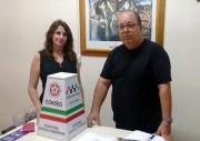 Tereza Cristina recebe urna do Conseg para denúncias