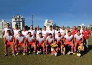 Veteranos do Caiçara recebem ex-jogadores do Figueirense em amistoso