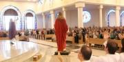 Missa de oração por cura e libertação lota santuário em Içara